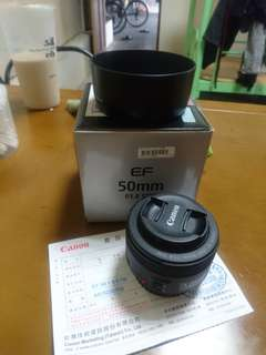 🚚 Canon 50mm f1.8 stm very good