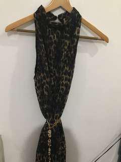 Flowing Dress, pleated #garagesale3