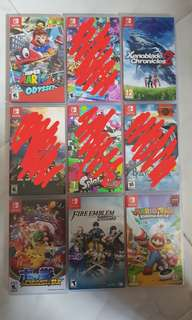 Selling Preowned games