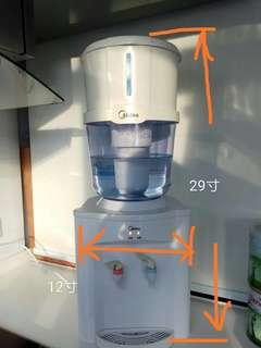 90%新 美的 Media 全自動儲水式 6L飲水機 家用商用淨水器