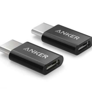 Anker Type C Male USB-C to Micro USB Adapter Connector