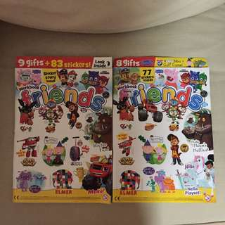 2 For $10 - BN Friends kids magazine from UK. Issue 393 and 395.