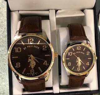 ORIGINAL US POLO ASSN COUPLE WATCHES
