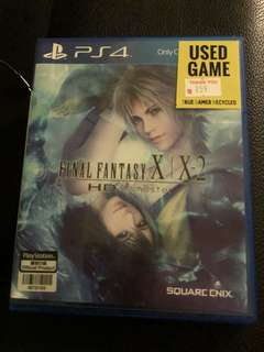 (40% off) Final Fantasy X & X-2 PS4 sell or swap