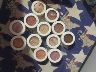Colourpop supershock eyeshadows