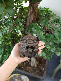 Bronze Incense Burner 狮子铜香炉