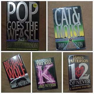 SALE!!! JAMES PATTERSON