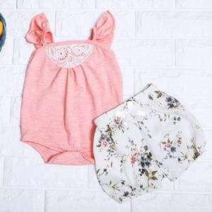 🚚 Instock - 2pc sweet floral set, kejxjajdd