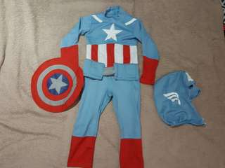 Captain America Costume (2-3yrs old)