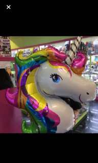 Large unicorn balloon