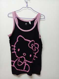 Black and pink hello kitty
