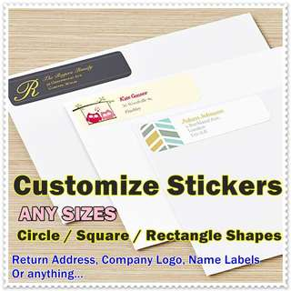 CUSTOMIZE STICKERS PRINTING