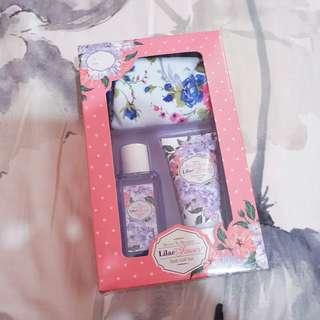 Lilac Shower Bath Gift set