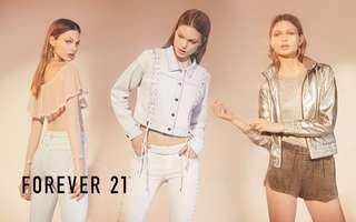 Forever 21: $50 Cash Voucher for All Items