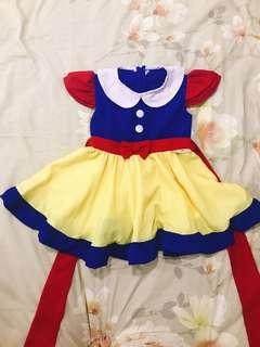 Snow white dress anak 3 tahun
