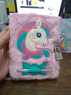 Smiggle lockable notebook