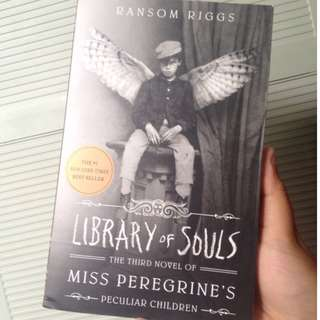 REPRICED Miss Peregrine's Library Of Souls