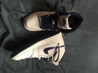Nike Air Jordan 1 Retro High OG Metallic Navy