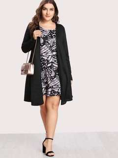 Plus Size Dress w/ Blazer