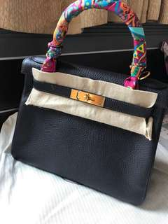Hermes Kelly 28 Prunoir 近新