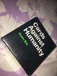 Authentic Cards Against Humanity Green Box edition