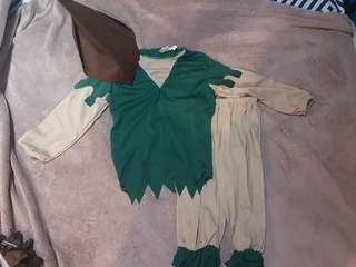 Peter Pan Costume (3yrs old)