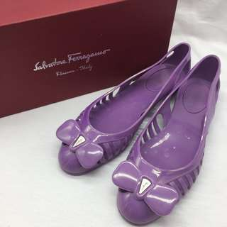 夏日必備 ☀️Salvatore Ferragamo Spiffy Jelly Flats -  Salvatore Ferragamo 啫喱鞋