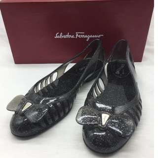 夏日必備☀️Salvatore Ferragamo Spiffy Jelly Flats -  Salvatore Ferragamo 透明啫喱鞋