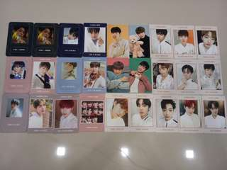 Clearance Wanna One Photocard and Magnet