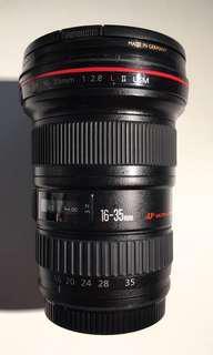 Canon 16-35mm f/2.8L Mk2