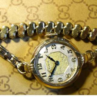 古董錶女 20年代~ElLGIN~ 1910-20S ~ Antique watch
