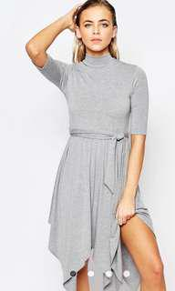 Boohoo Hanky Hem Dress (Small)