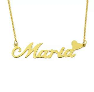 Personalised Name Plate Necklace