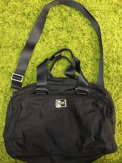 Agnes B Navy shoulder bag