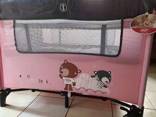Crib and Playpen