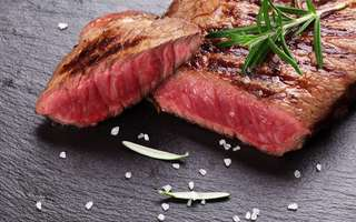 Black Angus Ribeye Steak, Salmon, or Lamb Chop Meal with Drink for 1 Person