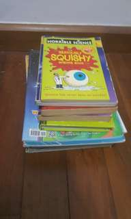 Young Scientists, Diary of a Wimpy kid and many more books