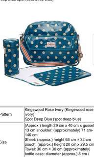 Authentic CATH KIDSTON baby changing bag