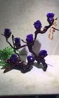 🔮紫晶擺設💰藝術品‼️
