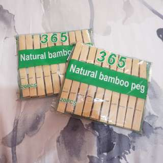 Natural Bamboo Peg