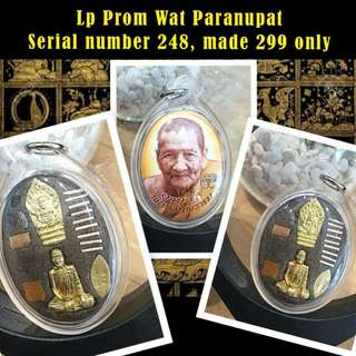 Lp Prom Wat Paranupat locket