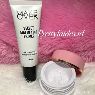 Makeover Velvet Mattifying Primer Share in jar