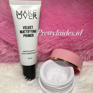 Makeover Velvet Mattifying Primer Share in jar