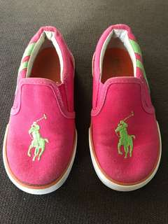 Cute pink Polo shoes fot for 3-4years old