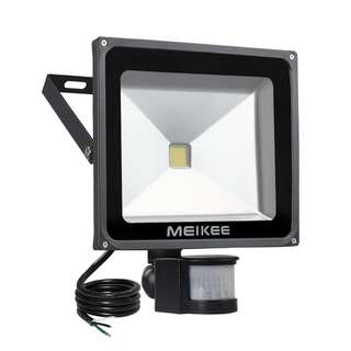 (E83) MEIKEE Motion Sensor Flood Light, 50W Super bright LED Flood Lights