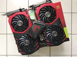 MSI GTX 1080Ti Gaming X SLI