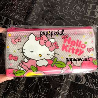 Last Pouch Left Hello Kitty transparent pouch