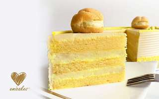 "6"" (15cm) D24 Durian Fantasy Cake"