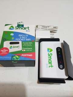 Smartbro lte 2 in 1 pocket wifi