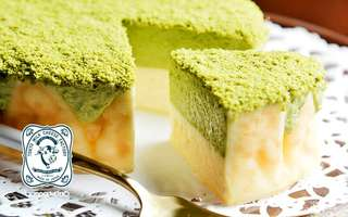 One (1) Whole Matcha Milk Cheese Cake